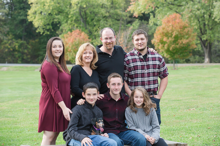 Pittsburgh family photos, South Park photo session