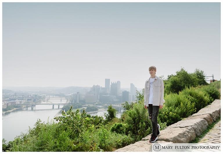 Pittsburgh, Mount Washington, Senior Photography